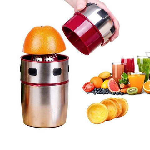 Presse-Orange Manuel Portable Inox