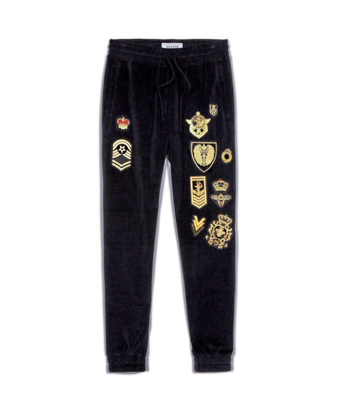 Richmond Velour Joggers - Reason Clothing