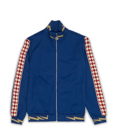 BOLT TRACK JACKET - BLUE Reason Clothing