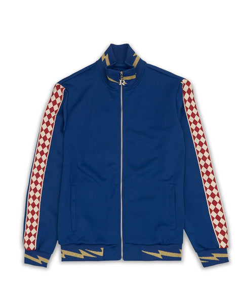 BOLT TRACK JACKET - BLUE - Reason Clothing