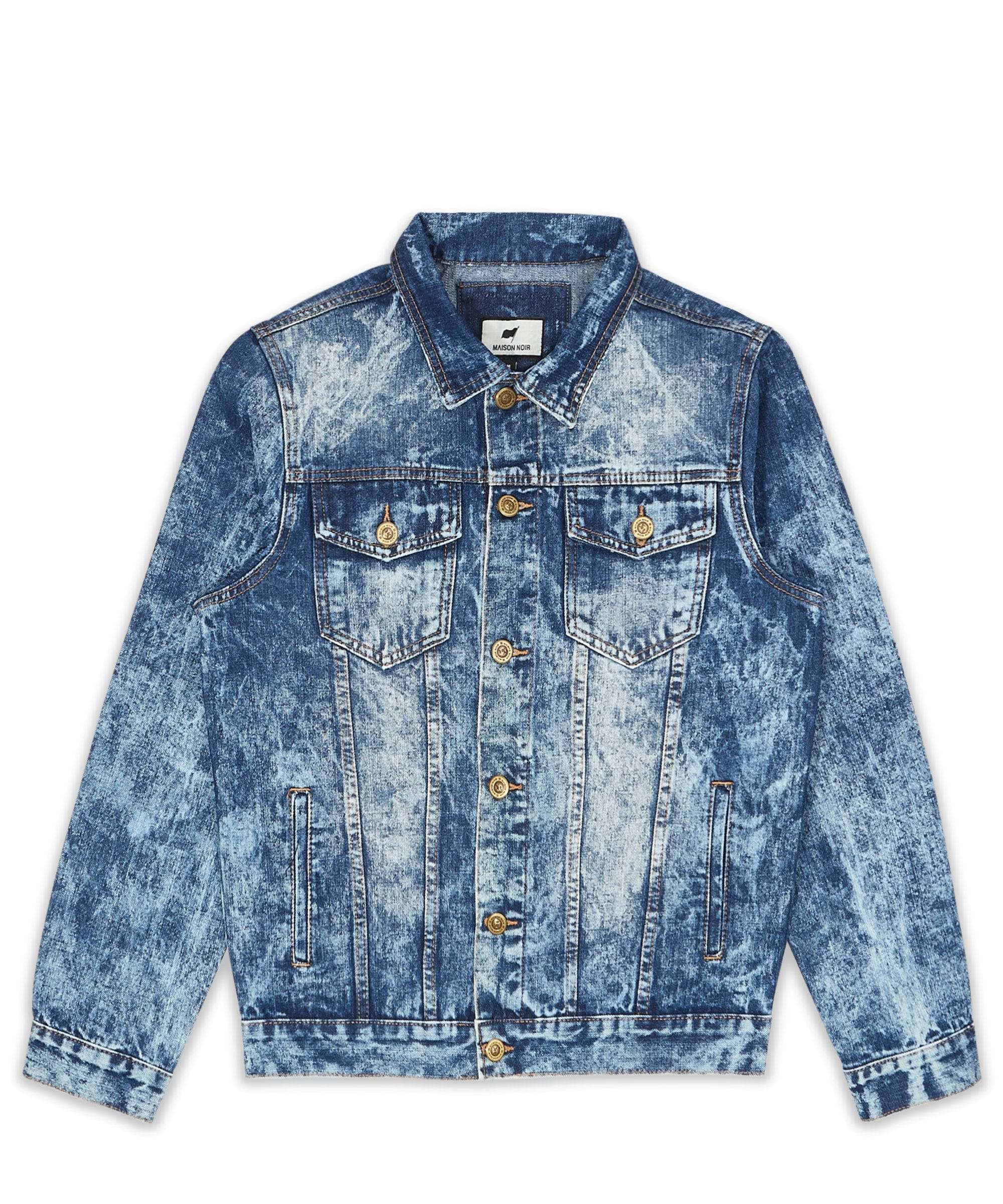 WRIGHT DENIM JACKET MAISON NOIR