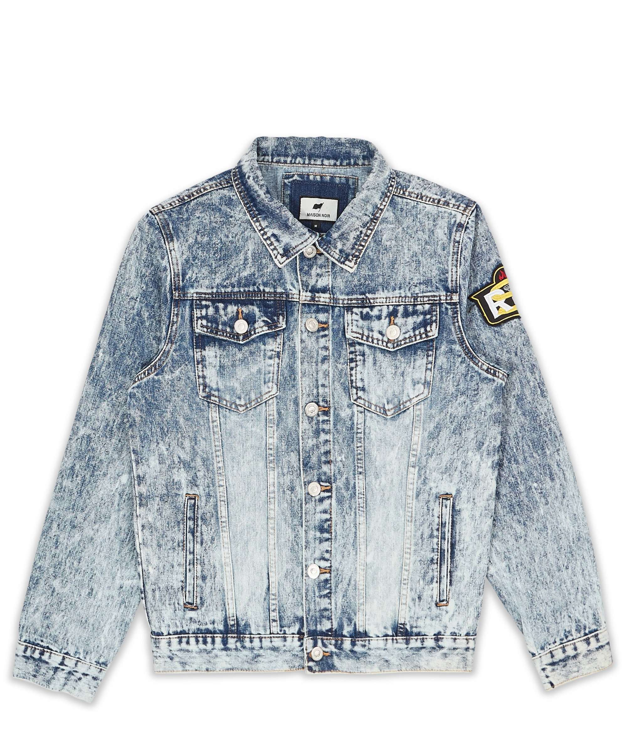 HAZE DENIM JACKET MAISON NOIR