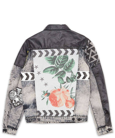 MASH UP DENIM JACKET Reason Clothing