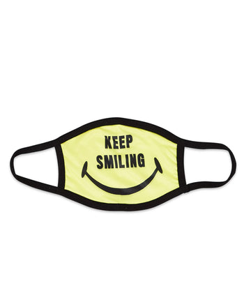 KEEP SMILING MASK