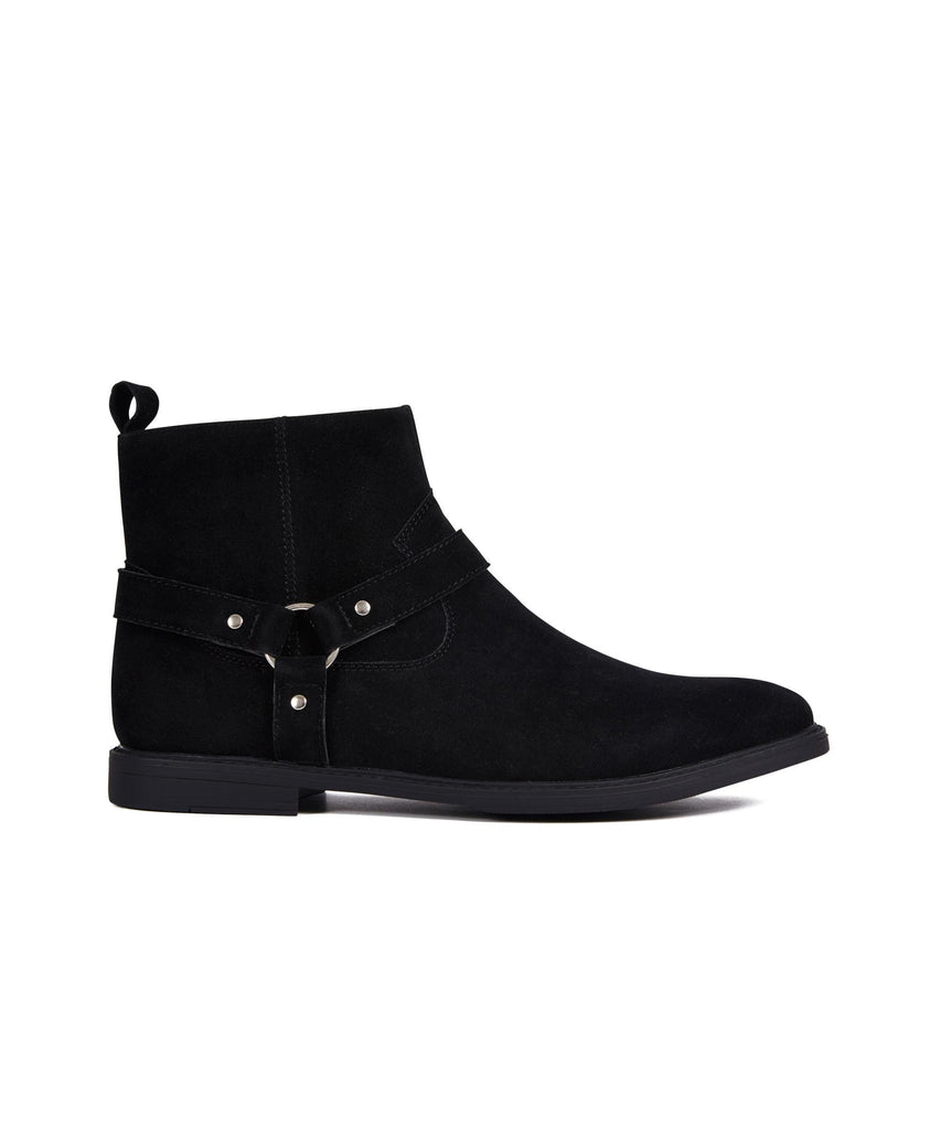 MERCER CHELSEA BOOT - BLACK - Reason Clothing