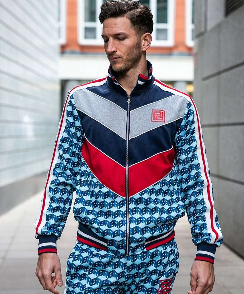 APEX TRACK JACKET - NAVY Reason Clothing