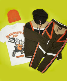 ANGLE BUNDLE - ORANGE/GREEN Reason Clothing