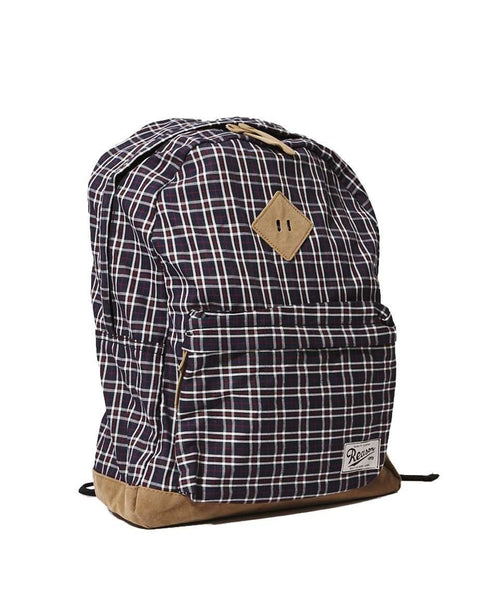 REASON CHECKER BACKPACK - BLUE
