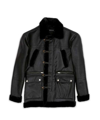 Black Shearling Jacket