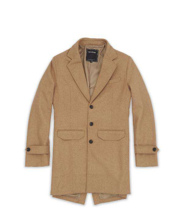 CAMEL OVERCOAT - Reason Clothing