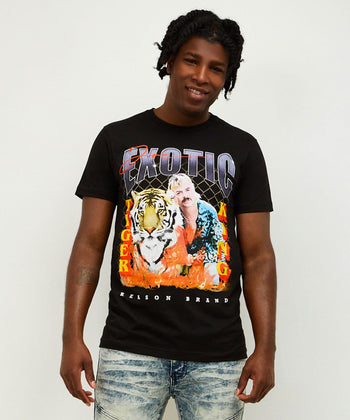 BURNING TIGER TEE