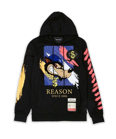 BRUSHED HOODIE Reason Clothing