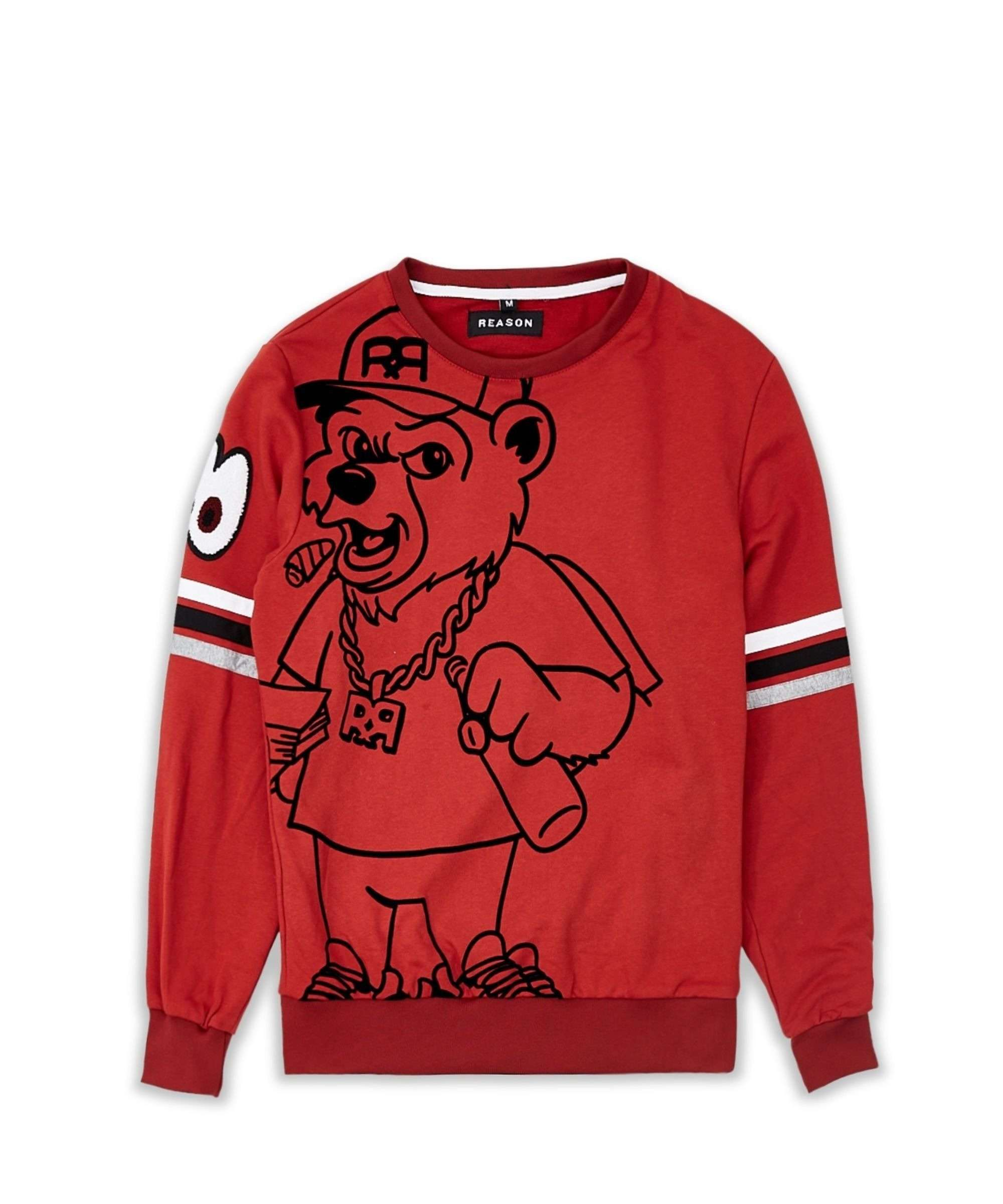 REASON BEAR CREWNECK Reason Clothing