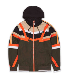 ANGLE TRACK JACKET BROWN Reason Clothing