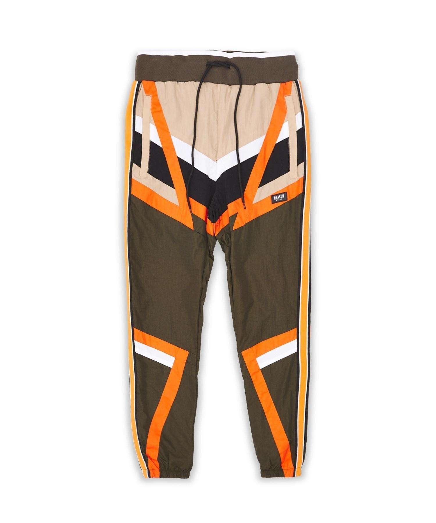 ANGLE TRACK PANT BROWN Reason Clothing