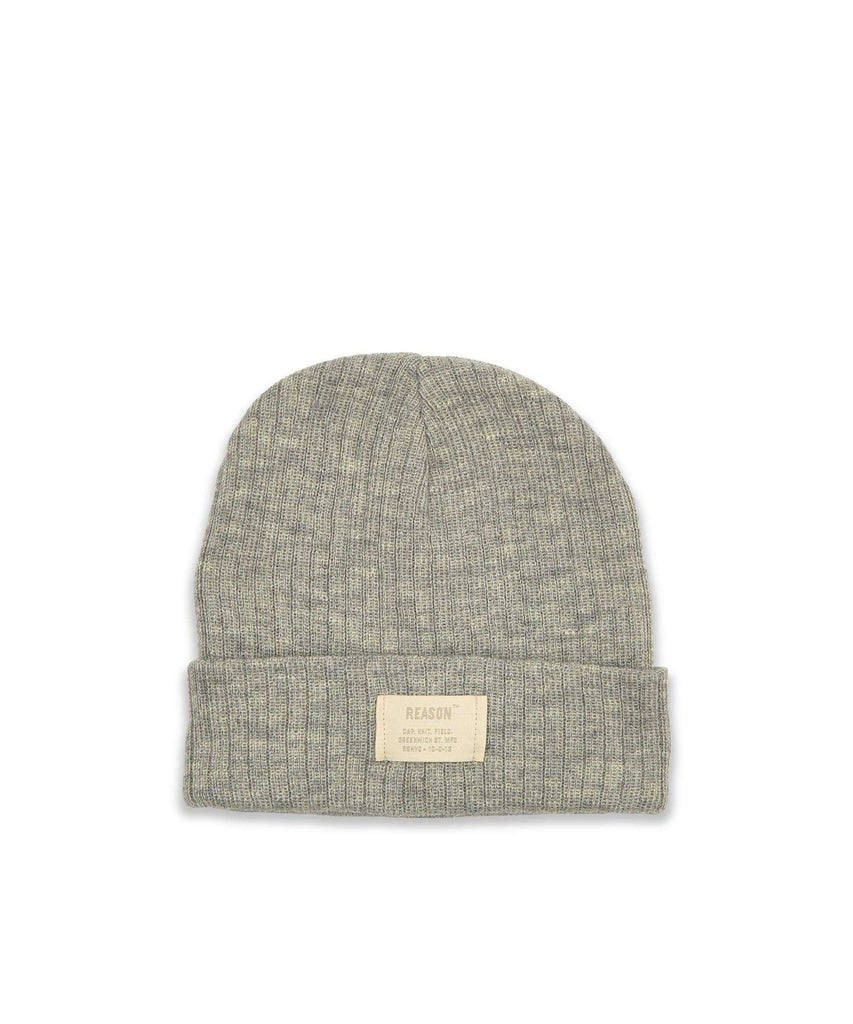 TONAL CORE BEANIE - GREY Reason Clothing
