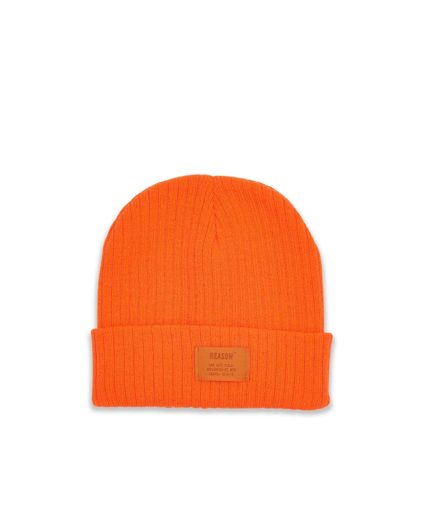 TONAL CORE BEANIE - ORANGE Reason Clothing
