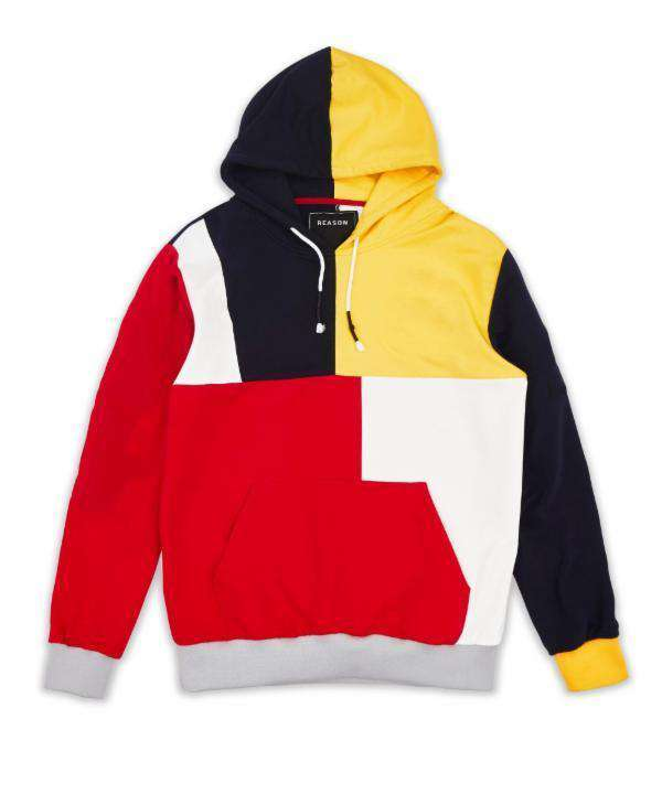 BLUEJACKET HOOD V2 -YELLOW - Reason Clothing