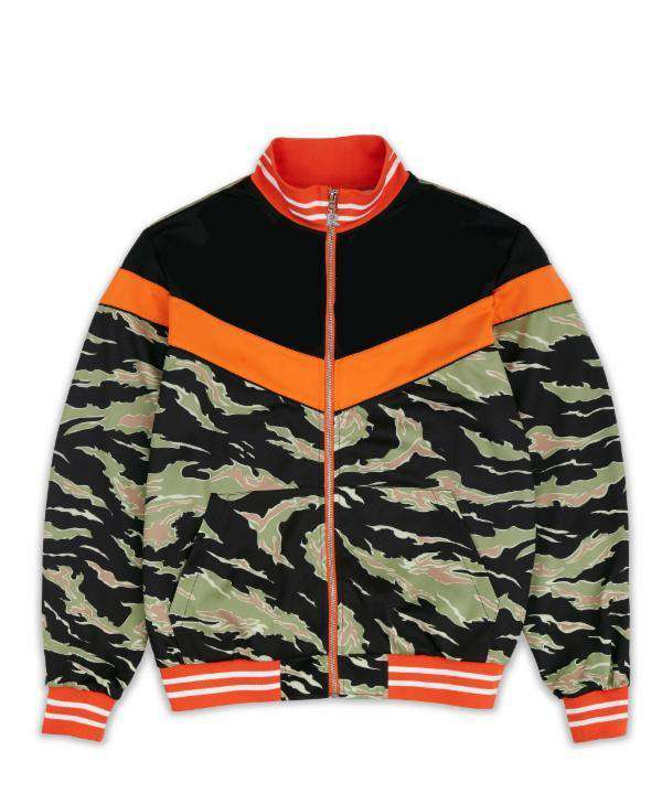 JARDIN TRACK JACKET V2 - CAMO - Reason Clothing