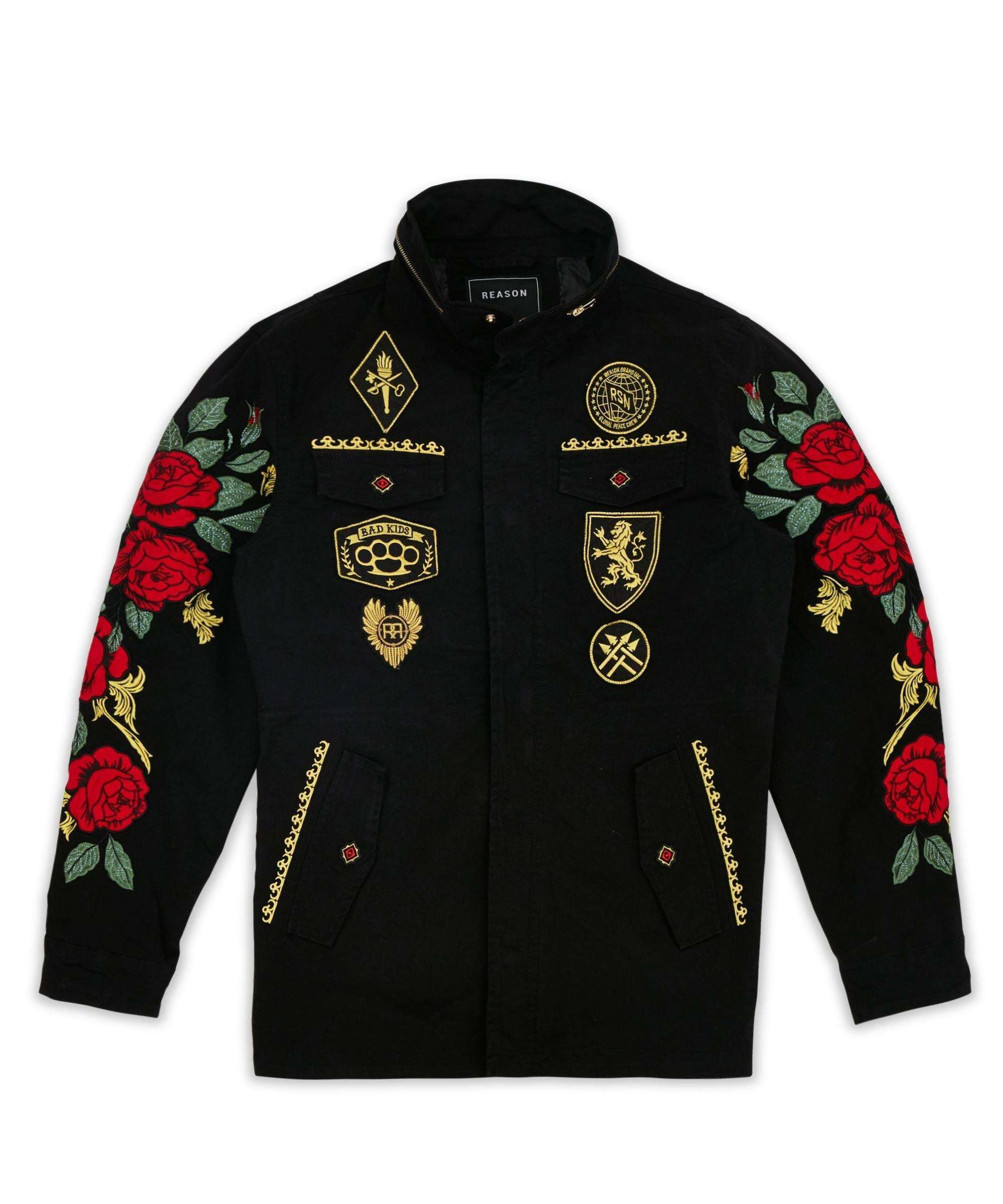 REGAL M65 MILITARY JACKET - BLACK Reason Clothing