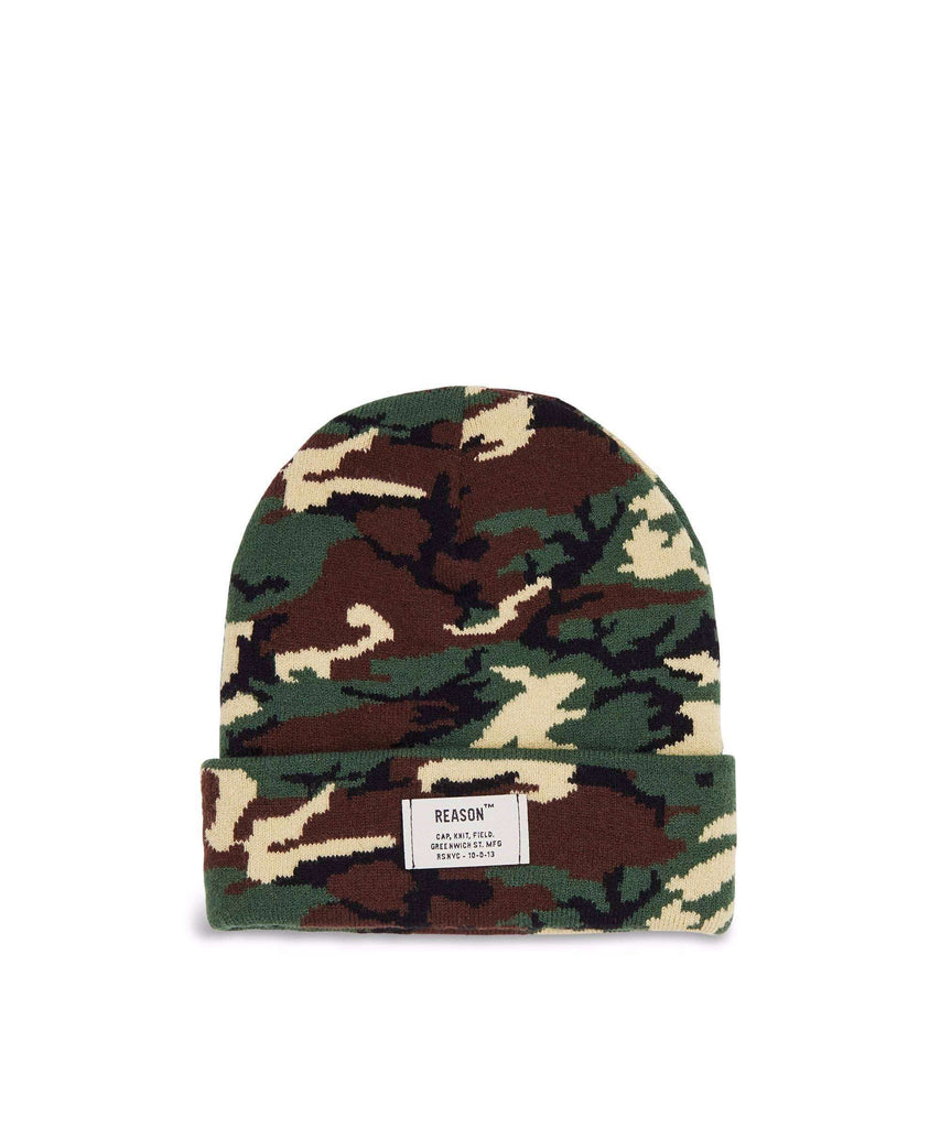 CAMO CORE BEANIE Reason Clothing