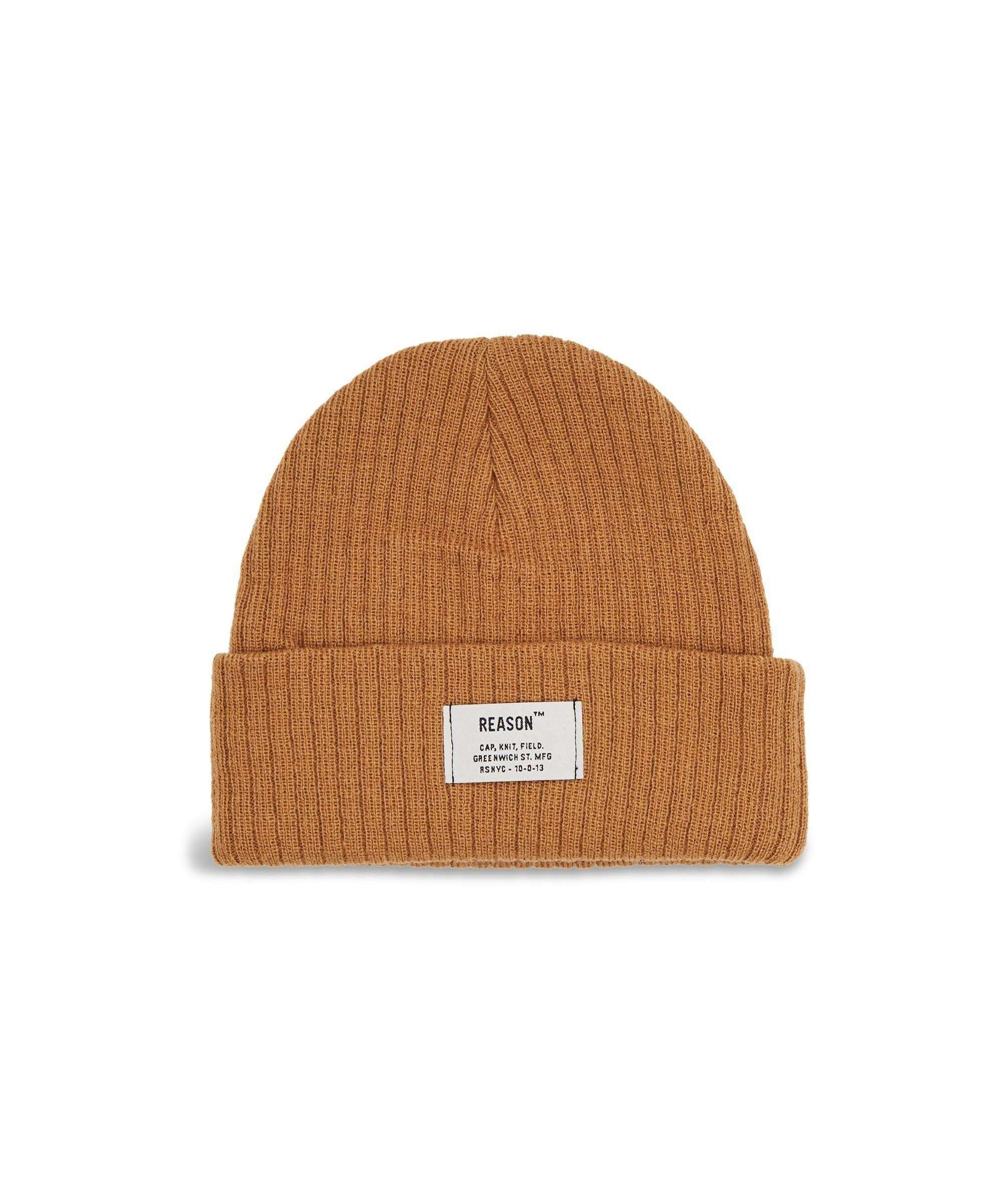 INDUSTRIAL BEANIE - CAMEL - Reason Clothing