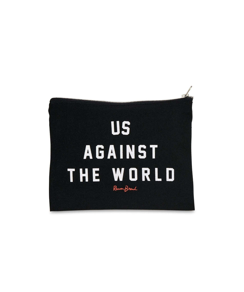 AGAINST THE WORLD POUCH Reason Clothing
