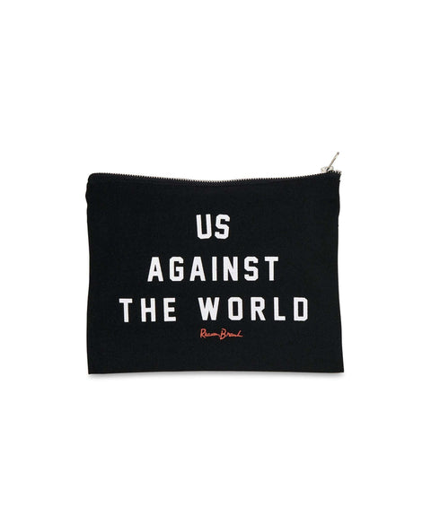 AGAINST THE WORLD POUCH - Reason Clothing