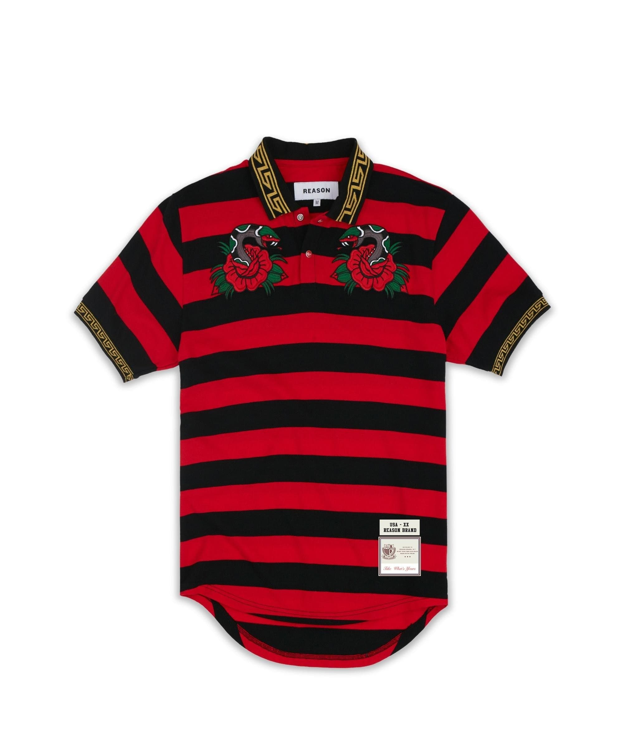 VENOM POLO-RED