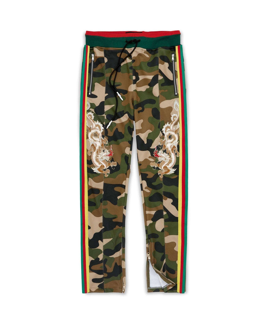 DRAGONS CAMO TRACK PANTS - Reason Clothing