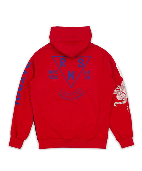 PATROL HOOD - RED - Reason Clothing