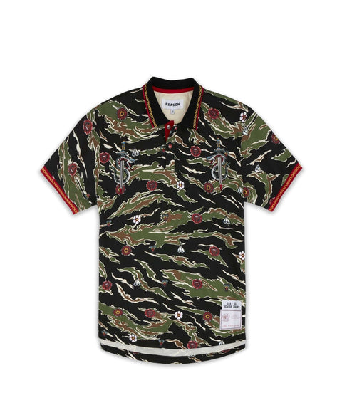 CUTLASS POLO - CAMO - Reason Clothing