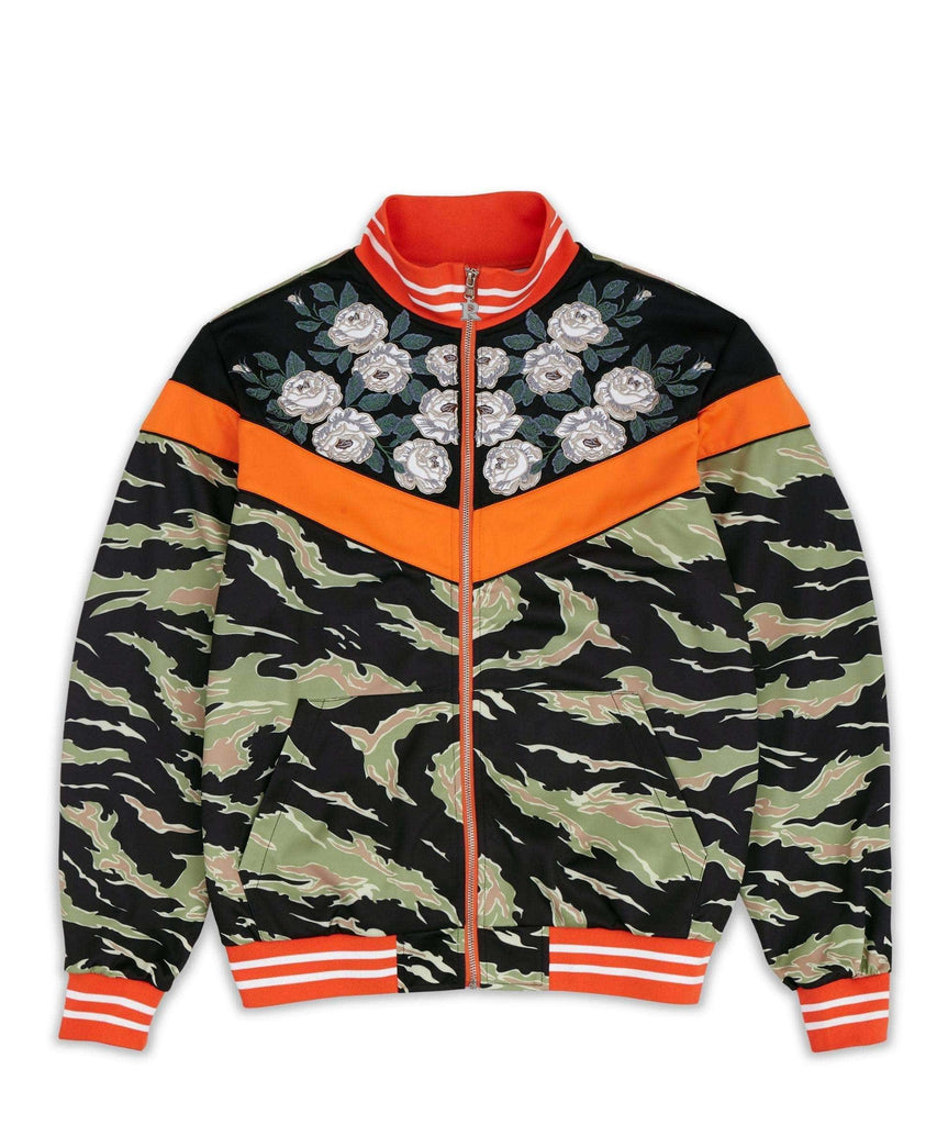 JARDIN TRACK JACKET - CAMO - Reason Clothing