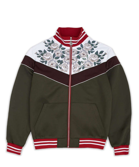 JARDIN TRACK JACKET - OLIVE Reason Clothing