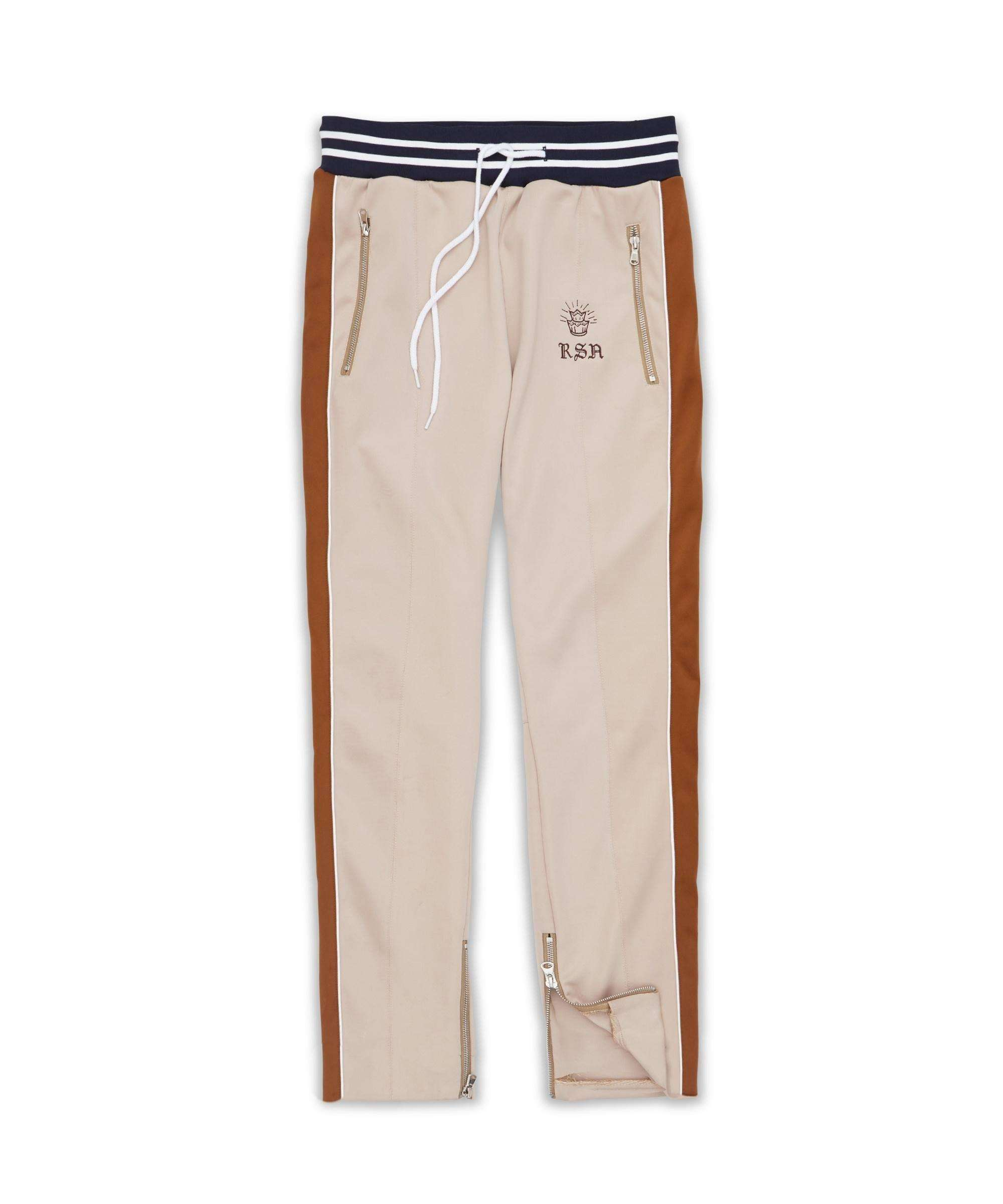 JARDIN TRACK PANT - CHESTNUT - Reason Clothing