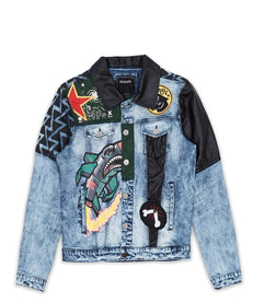 TAKEOVER DENIM JACKET Reason Clothing