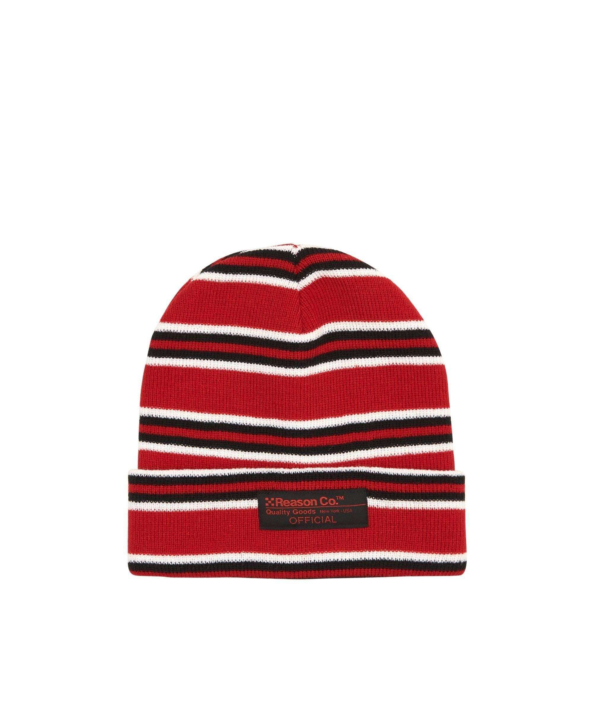 NORFOLK STRIPE BEANIE Reason Clothing