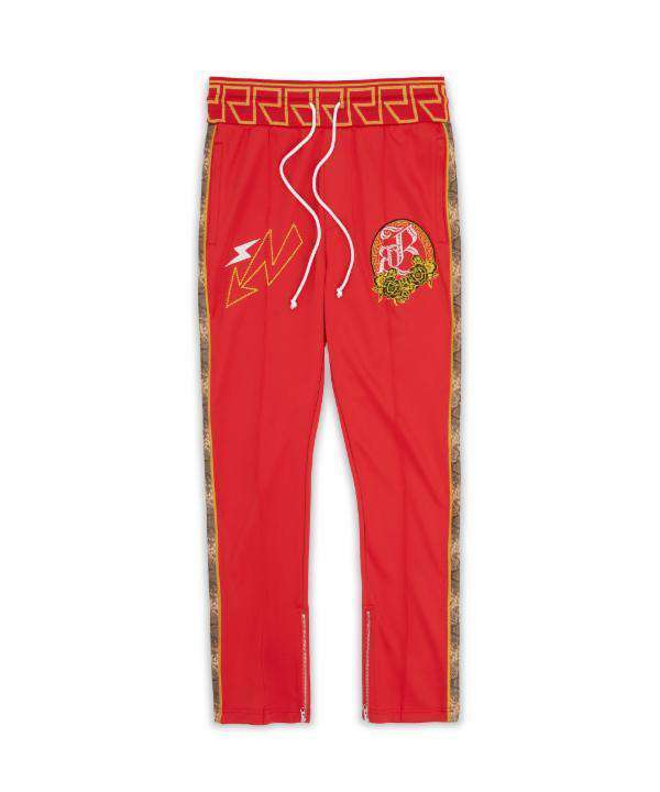 APOLLO TRACK PANTS - RED Reason Clothing