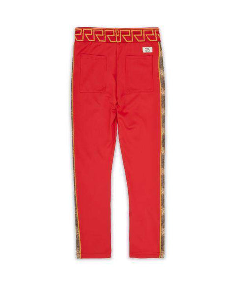 APOLLO TRACK PANTS - RED - Reason Clothing
