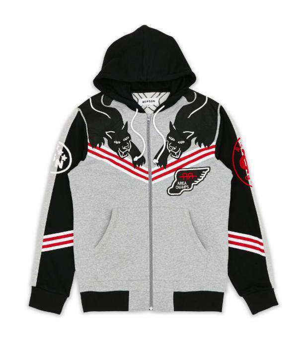 PANTHERS TOURNAMENT HOOD - GREY