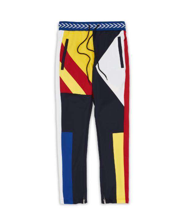 COURTSIDE TRACK PANT - MULTI - Reason Clothing