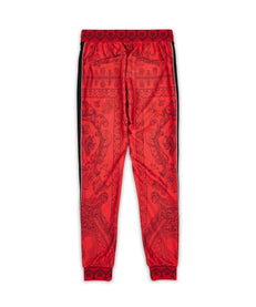 CORINTHIAN TRACK PANTS - RED Reason Clothing