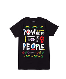 POWER TO THE PEOPLE TEE Reason Clothing