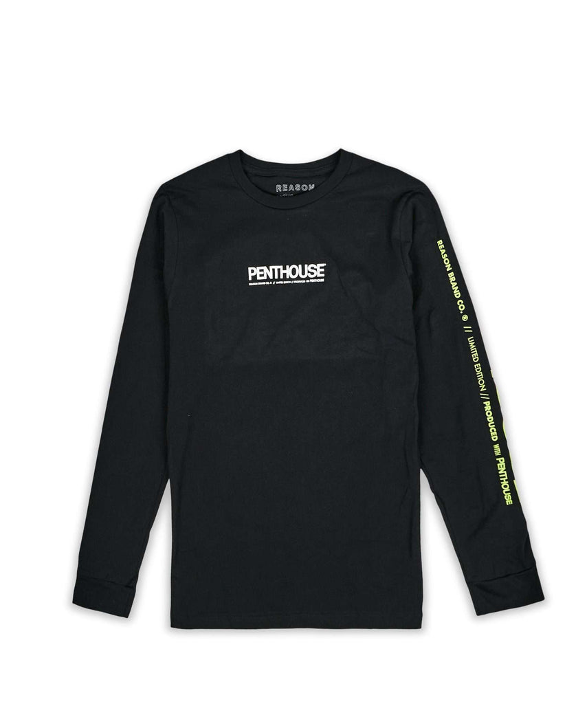 PENTHOUSE LOGO LS TEE Reason Clothing