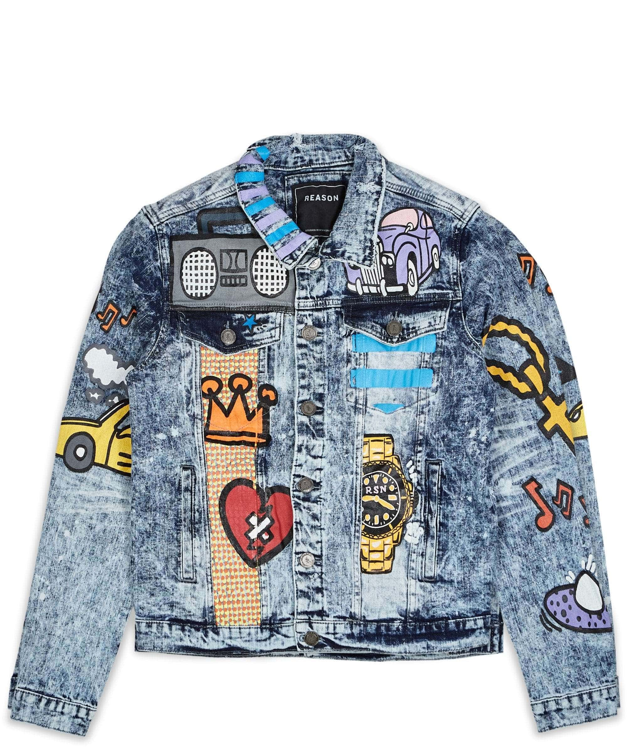 ALICE DENIM JACKET Reason Clothing