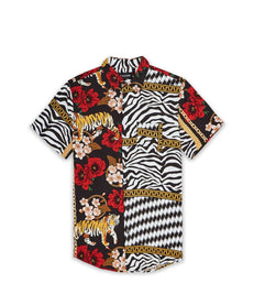 TIGER CHAINS SS WOVEN SHIRT Reason Clothing