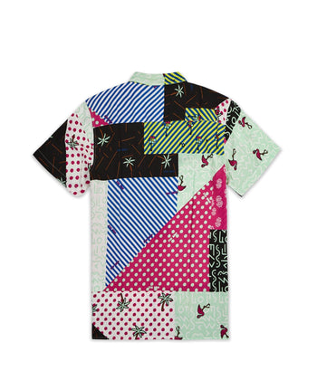 COLOR QUILT SHIRT