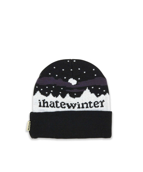 I HATE WINTER BEANIE Reason Clothing