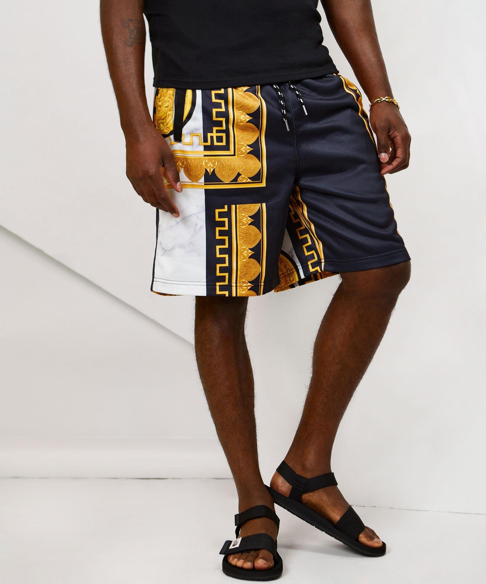 MARBLE GOLD SHORTS