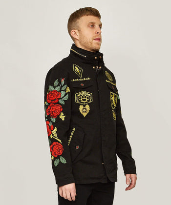 REGAL M65 MILITARY JACKET - BLACK